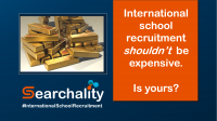 International School recruitment with no job ad or hiring fees. Save money