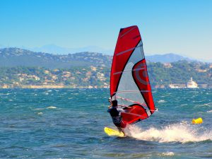 learning to windsurf while teaching at an International School